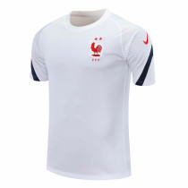 Mens France Short Training Jersey White 2020/21
