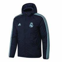 Mens Real Madrid Winter Jacket Navy 2019/20