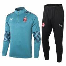 Mens AC Milan Training Suit Green 2020/21