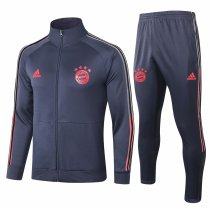 Mens Bayern Munich Jacket + Pants Training Suit Navy 2020/21