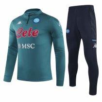 Mens Napoli Training Suit Green 2020/21
