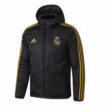 Mens Real Madrid Winter Jacket Black 2019/20