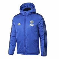 Mens Manchester United Winter Jacket Blue 2019/20