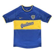 Boca Juniors Retro Home Jersey Mens 2000