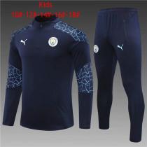 Kids Manchester City Training Suit Navy 2020/21
