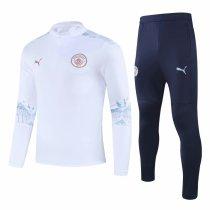 Mens Manchester City Training Suit White 2020/21