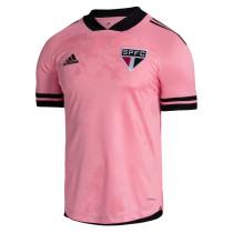 Sao Paulo FC Outubro Rosa Jersey Mens 2020/21