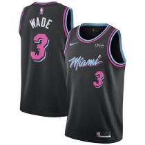 Mens Miami Heat Nike Vice Nights Swingman Jersey