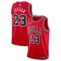 Mens Chicago Bulls Nike Red Swingman Jersey - Icon Edition