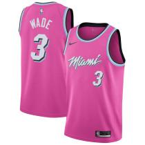 Mens Miami Heat Nike Vice Sunset Swingman Jersey