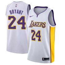 Mens Los Angeles Lakers Nike White Swingman Jersey
