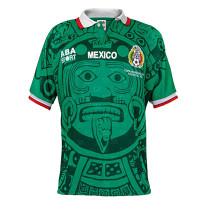 Mexico Home Retro Jersey Mens 1998