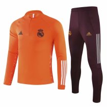 Mens Real Madrid Training Suit UCL Orange 2020/21