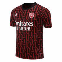 Mens Arsenal Short Training Jersey UCL Red-Black 2020/21