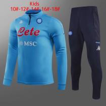 Kids Napoli Training Suit Blue 2020/21