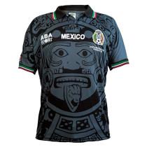 Mexico Away Retro Black Jersey Mens 1998