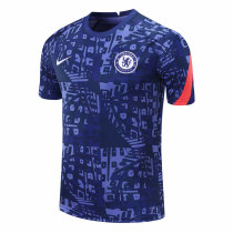 Mens Chelsea Short Training Jersey UCL Blue 2020/21