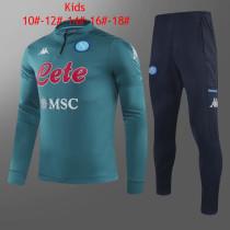 Kids Napoli Training Suit Green 2020/21