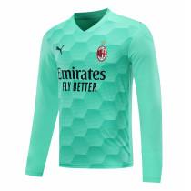 AC Milan Goalkeeper Green Long Sleeve Jersey Mens 2020/21