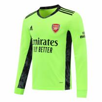 Arsenal Goalkeeper Green Long Sleeve Jersey Mens 2020/21