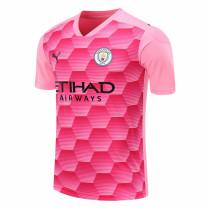 Manchester City Goalkeeper Pink Jersey Mens 2020/21