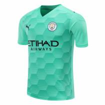 Manchester City Goalkeeper Green Jersey Mens 2020/21