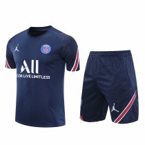 Mens PSG x Jordan Short Training Suit Navy 2020/21