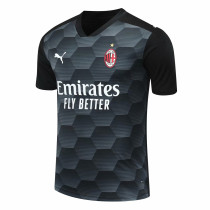 AC Milan Goalkeeper Black Jersey Mens 2020/21