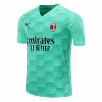 AC Milan Goalkeeper Green Jersey Mens 2020/21