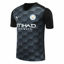 Manchester City Goalkeeper Black Jersey Mens 2020/21
