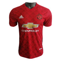 Manchester United Red Pre-Match Jersey Mens 2020/21 - Match