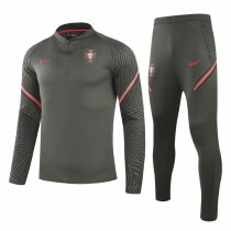 Mens Portugal Training Suit Deep Green 2020/21