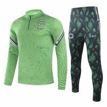 Mens Nigeria Training Suit Green 2020/21
