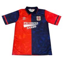 Cagliari Calcio Retro Home Jersey Mens 1991/92