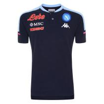 Mens Napoli Polo Shirt Navy 2020/21