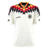Germany Home Retro Jersey Mens 1994