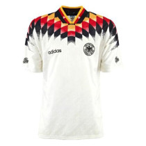 Germany Home Retro Jersey Mens 1994