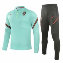 Mens Portugal Training Suit Green 2020/21