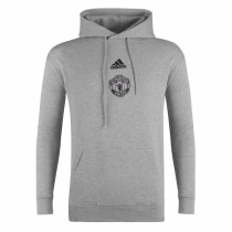 Mens Manchester United Sweatshirt Grey 2020/21