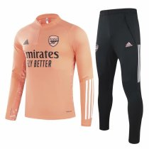 Mens Arsenal Training Suit UCL Chalk Coral 2020/21