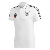 Mens Germany Polo Shirt White 2020/21