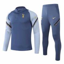 Mens Tottenham Hotspur Training Suit Blue 2020/21