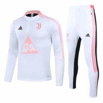 Mens Juventus Training Suit Human Race White 2020/21