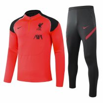 Mens Liverpool Training Suit Orange II 2020/21