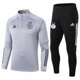 Mens Algeria Training Suit Grey 2020/21