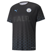 Manchester City x BALR Signature Black Jersey Mens