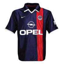 PSG Retro Home Jersey Mens 2001/02