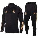 Mens Algeria Training Suit Black - Gold 2020/21
