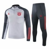 Mens Bayern Munich Training Suit UCL Grey 2020/21