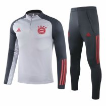 Mens Bayern Munich Training Suit UCL Grey 2020/21